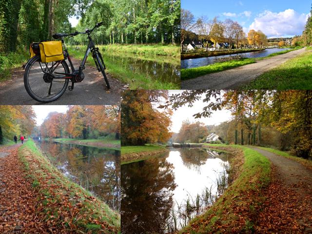 Велодорожки вдоль канала