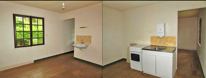 дом во французской деревне дешево