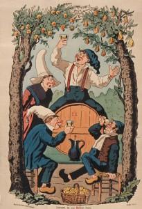 Афиша. Яблочный сидр 1850 г