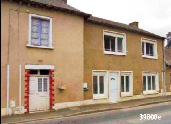 38900e Дом с садом и камином во французской деревне для жизни и бизнеса