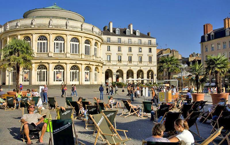 Ренн — город Франции, столица Бретани