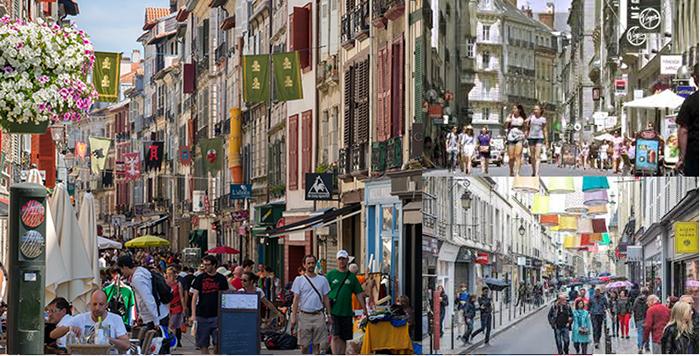 Город Ренн Франция - магазины и бутики