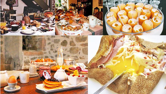 Домашние завтраки во французской деревне фото