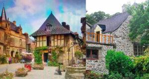 Каменный дом в самой красивой деревне Франции за 36т евро.