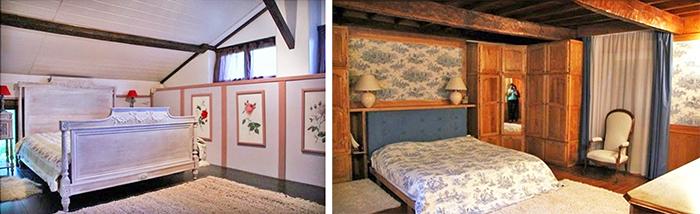 Примеры обустройства спальни в традиционном французском стиле