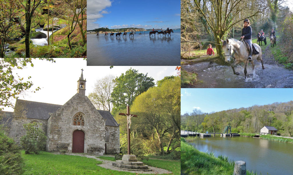 Сен-Эрнен деревня во Франции фото