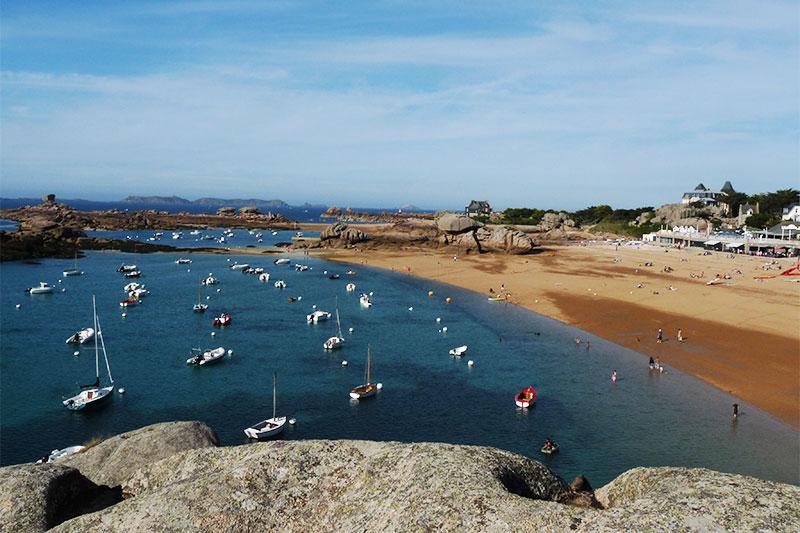 Пляж Козпор (Бретань, Франция) фото